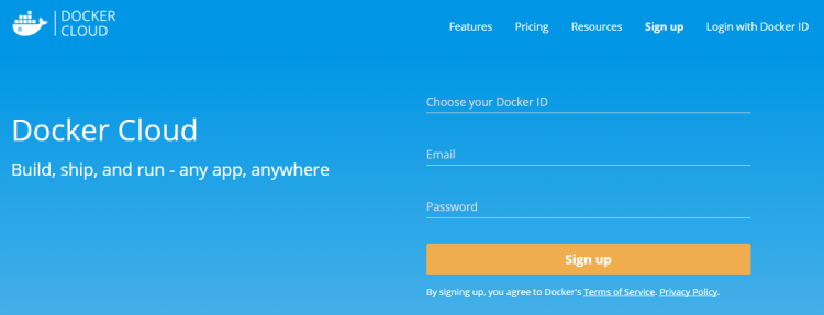 dockercloudsignup