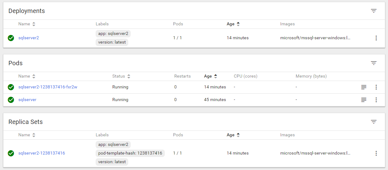 Exploring the Kubernetes dashboard in Azure Container Services | DBA