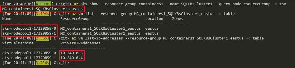 Azure Kubernetes Service Error – LoadBalancer type service