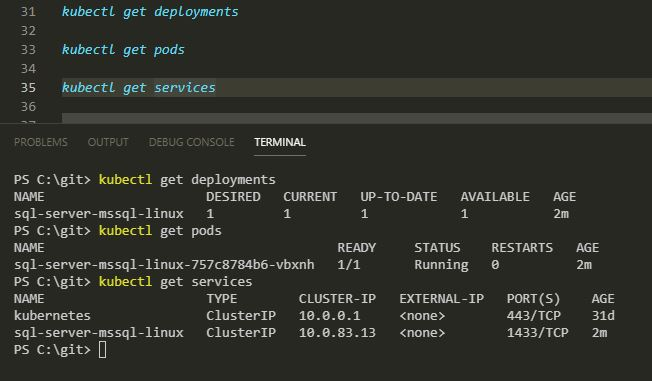 Deploying SQL Server to Kubernetes using Helm | DBA From The